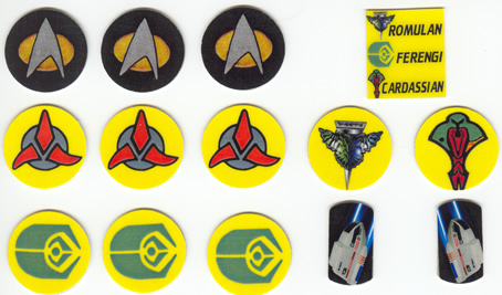 Star Trek The Next Generation Target Decals