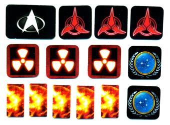 Pinball Decals Inc Star Trek Stern Custom Target Decals