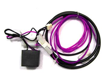 Pinball Decals, Inc - Avengers - Hulk LE Purple EL Wire Kit